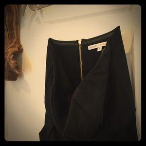 NEW black strapless dress w/o tag